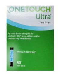50 Count Ultra Test Strips Retail