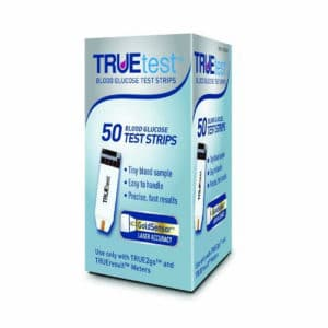 TrueTest Glucose Test Strips 50 Count