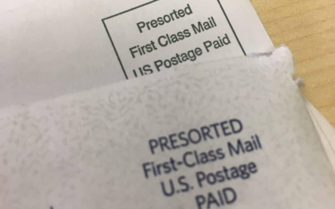 How we send checks through First Class