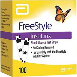 Freestyle Insulinx 100 Count Retail