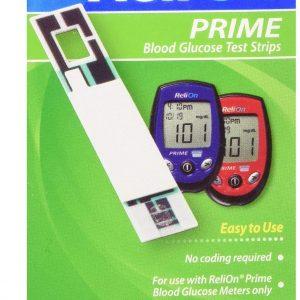 ReliOn Prime 50 test strips